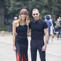 Veronika Heilbrunner, fashion editor, and Justin O'Shea, creative director