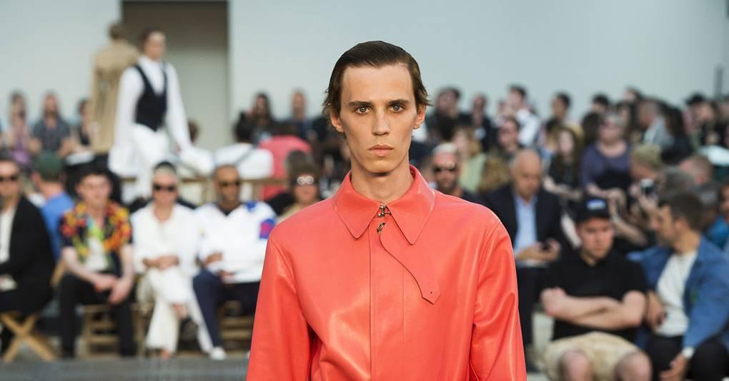 1918a0a02c24 Alexander McQueen Spring Summer 2019 Menswear show report