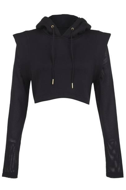Cropped hoodie, £40