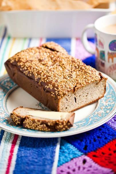 Hemsley hemsley healthy banana bread recipe british vogue hemsley hemsley banana bread forumfinder Image collections