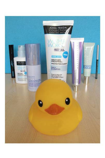john frieda duck bathroom beauty blog vogue