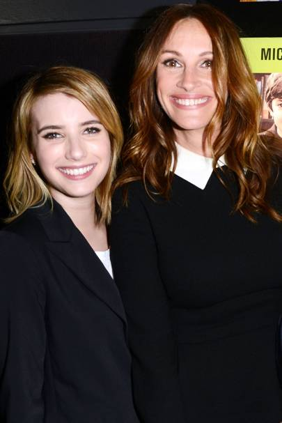 Julia and Emma Roberts
