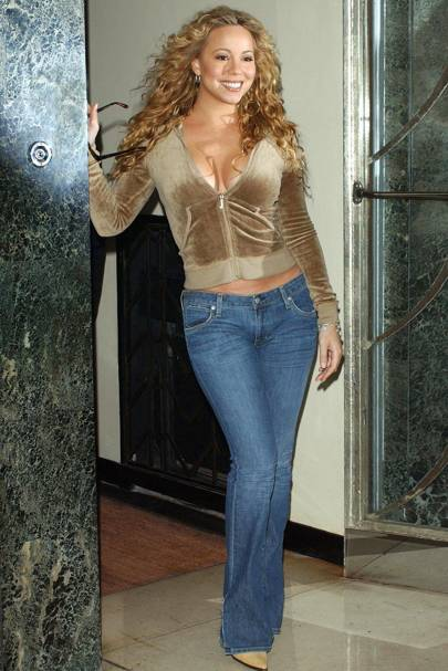 Mariah Carey, October 2002