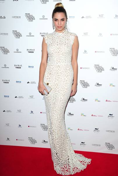 WGSN Global Fashion Awards - October 30 2013