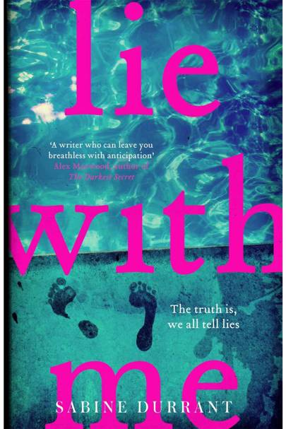 Lie With Me, by Sabine Durrant