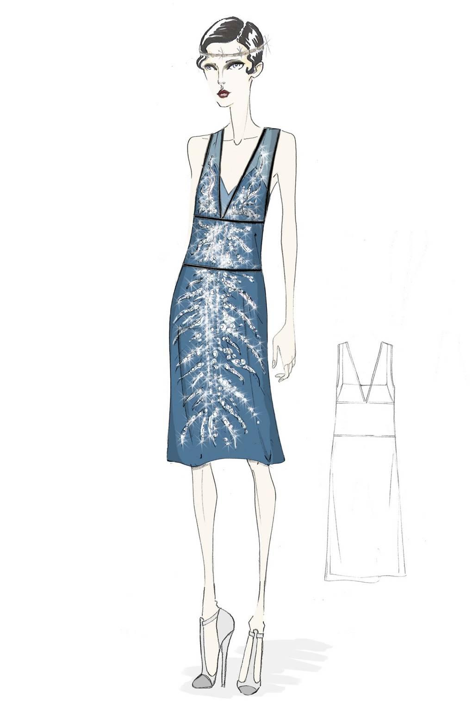 Great Gatsby Costumes - Miuccia Prada - Daisy Buchanan Dress Carey ...