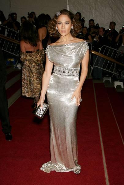 Jennifer Lopez at the 2007 Met Gala