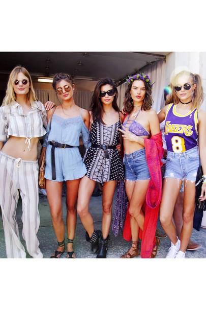 The Coachella Crews British Vogue