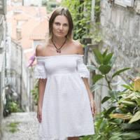 Sofia Loginova, works in banking
