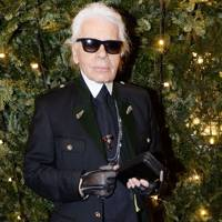 Karl Lagerfeld: Santa Claus himself