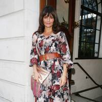 Helena Christensen perfume launch, London - June 11 2015