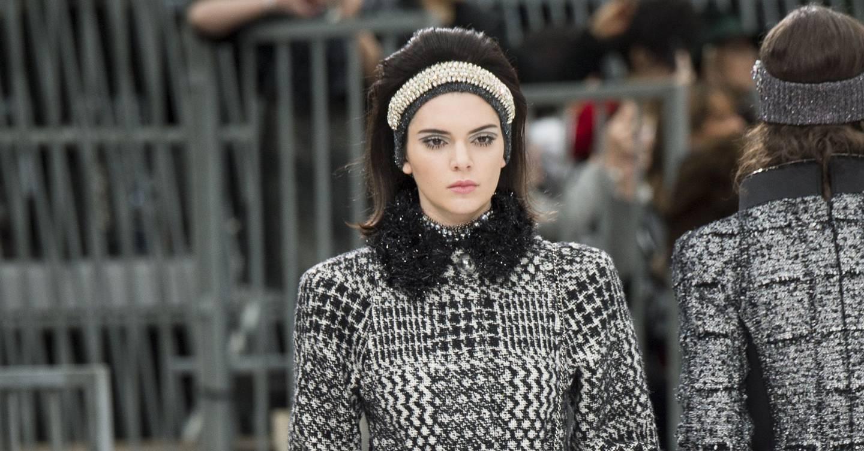 Chanel Autumn Winter 2017 Ready To Wear Show Report British Vogue Catriona Monique Top Handle Bag Grey