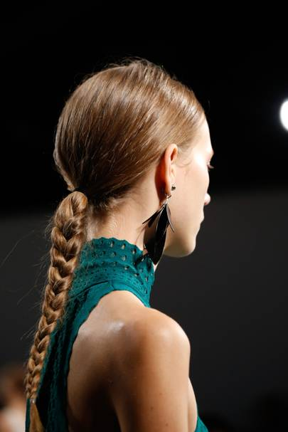 The Hairstyle: Tough-Girl Braids