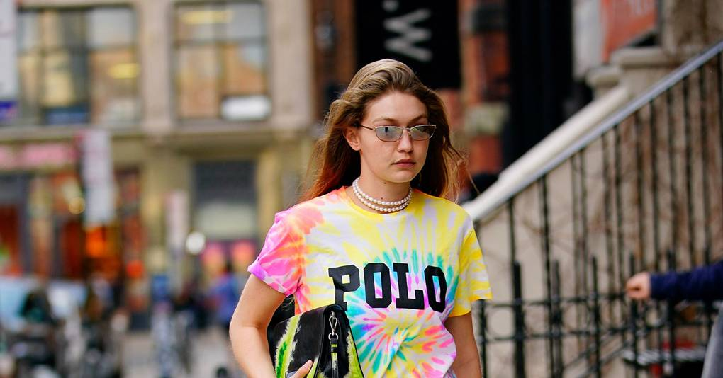 Gigi Hadid Takes Tie-Dye For A Spin At Coachella