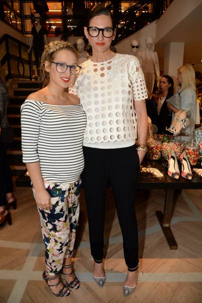 Sophia Webster for J Crew launch, London - April 30 2014