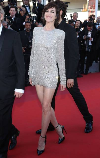 2. Charlotte Gainsbourg in Saint Laurent