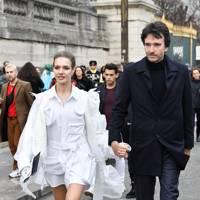 Louis Vuitton Show Arrivals, Paris - January 18 2019