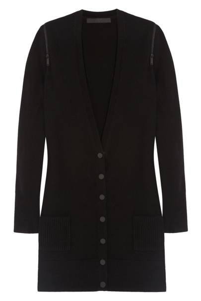 Zip wool and cashmere blend cardigan, £270