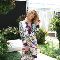 Mary Charteris, model