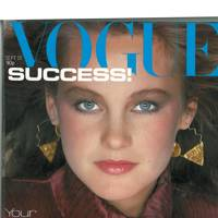 Vogue Cover, September 1980.