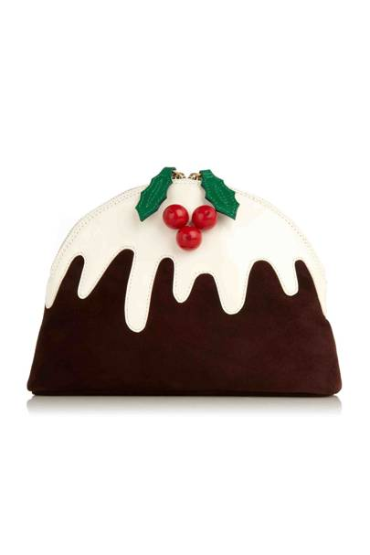 Christmas pudding pouch