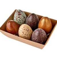 Fortnum's Speckled Goose Eggs in a Basket