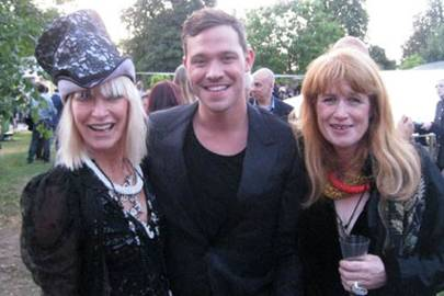 vogue blog virginia bates serpentine party