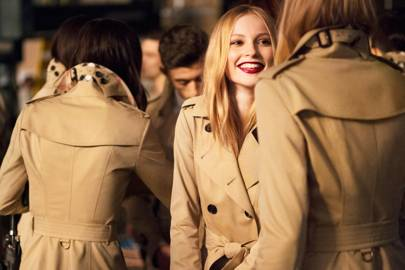 Burberry's New Girl - Hannah Dodd