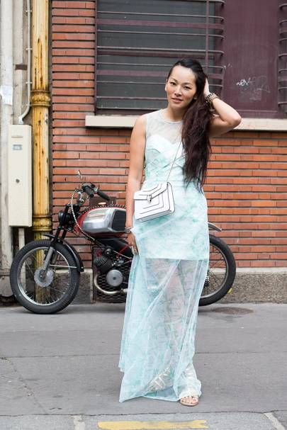 Tina Leung, stylist