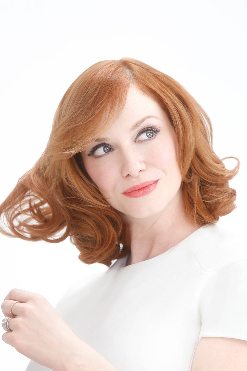 Christina Hendricks Not A Natural Redhead Nicen Easy Campaign