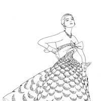 Vogue Colouring Book By Iain R Webb Will Be Published Conran Octopus On November 5 At GBP10