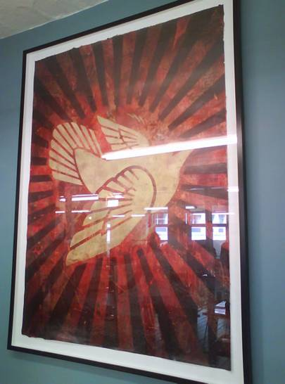 Shepard Fairey: Peace Dove