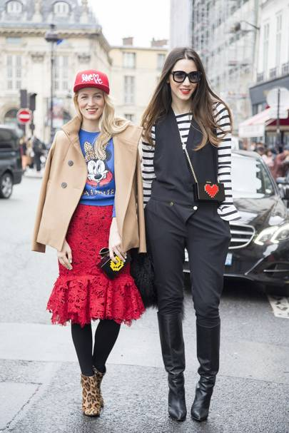 Alina Tansa, stylist and Diana Enciu, stylist