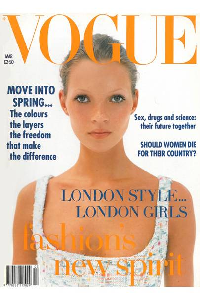 March 1993 – Kate Moss