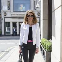 Laure Bertaux, works in sales