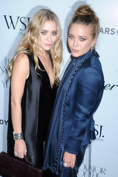 Designers Mary-Kate and Ashley Olsen