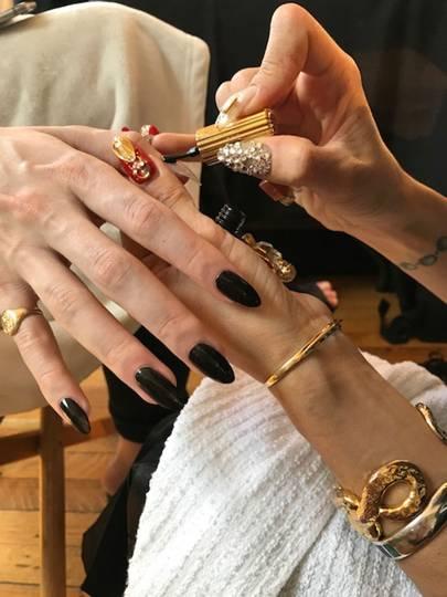Christmas Nail Art British Vogue