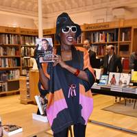 Grace Jones biography book signing, Paris - March 18 2016