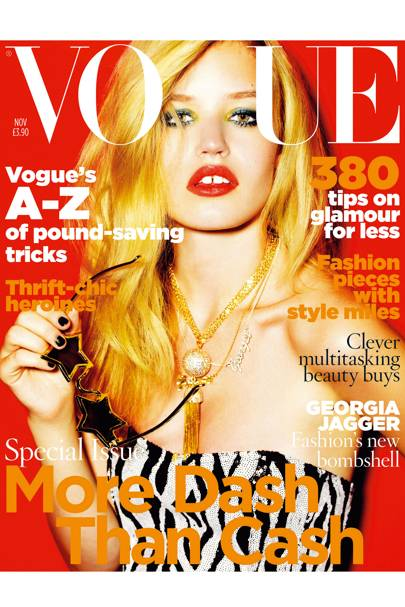 Vogue cover, November 2009