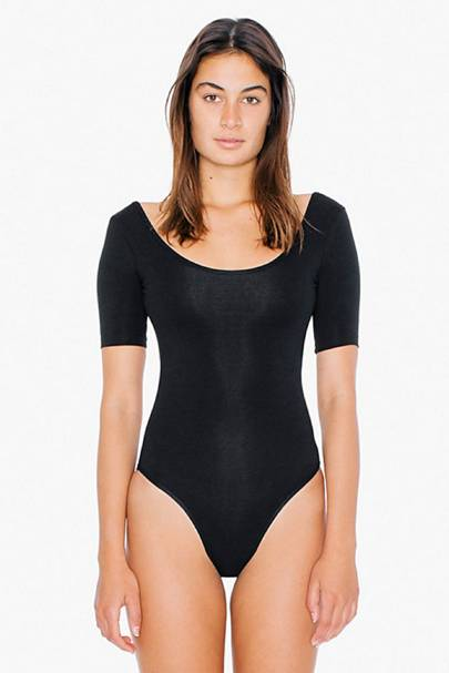deed86bdeba There are few items as indispensable within my wardrobe as an American  Apparel bodysuit  scoop-backed