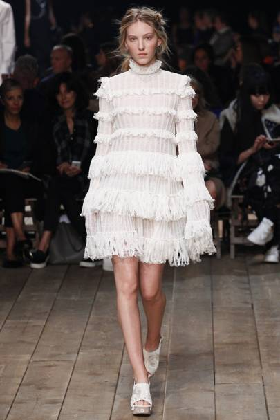 Celebrity frocks and frills
