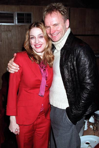 Madonna and Sting