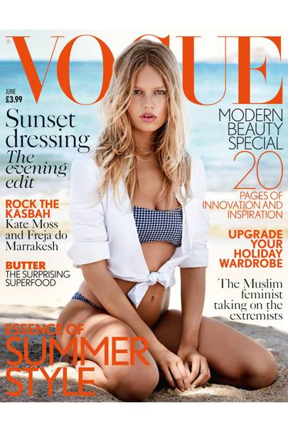 Vogue cover, June 2015