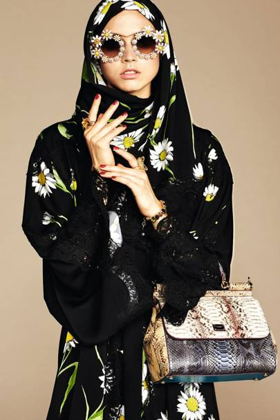 983c8ad3a1c8 Dolce and Gabbana Hijab and Abaya Collection | British Vogue