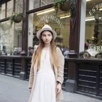 Maria Matveeva, fashion student
