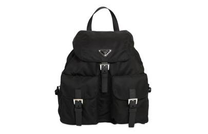 Prada: nylon backpack