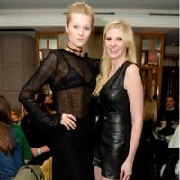 Frame Denim and Lara Stone Dinner, Paris - March 5 2016