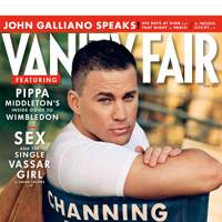 The July Vanity Fair cover
