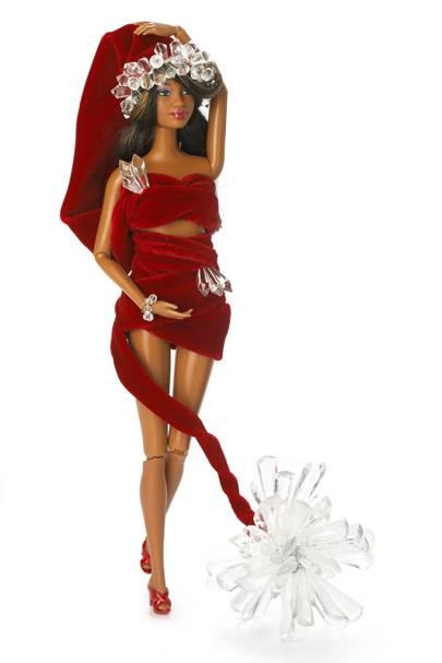 Santa Baby Barbie