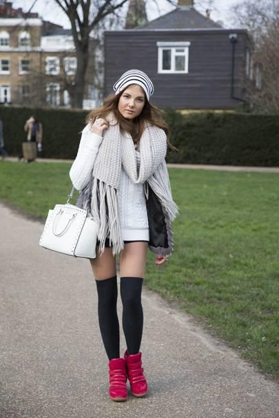 Agnessa Bobkova, fashion PR student